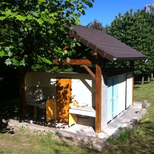 Sanitaires camping vallée de beille ariège