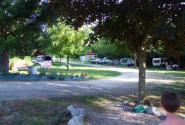 camping vallée de beille vue de l'entrée