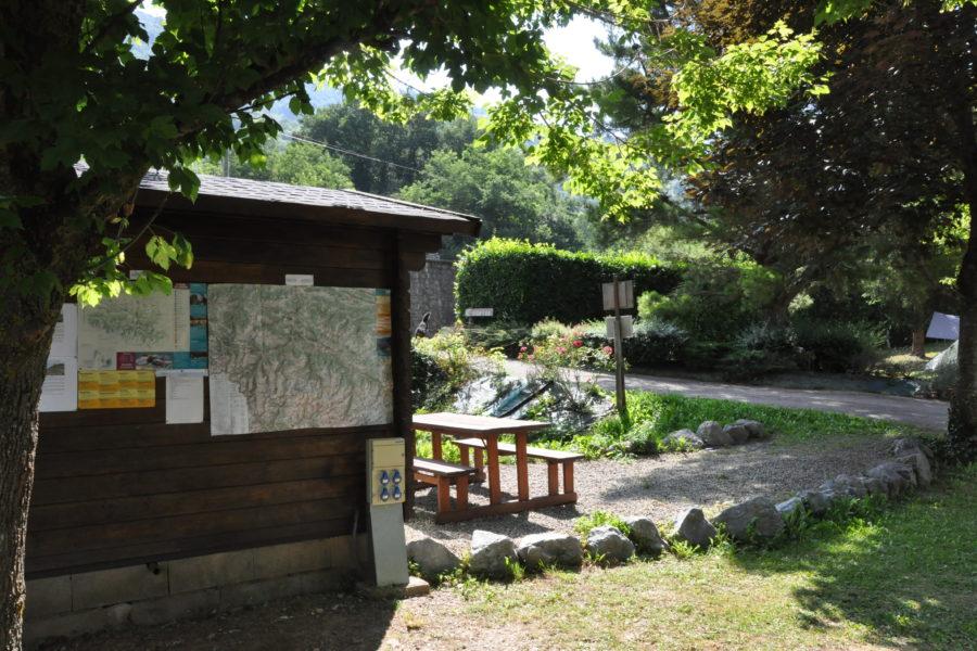 Entrée du camping Ariège
