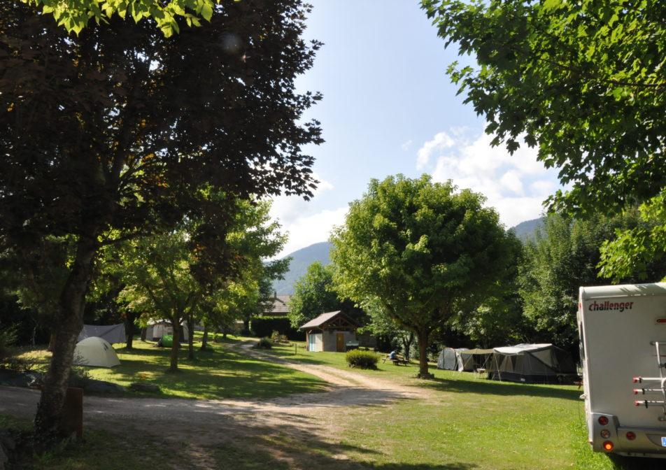 Camping spacieux Ariège